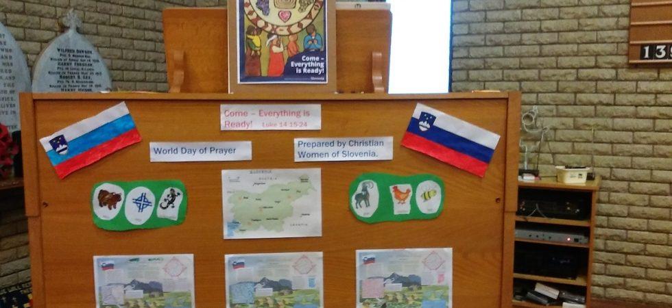 World Day of Prayer Display